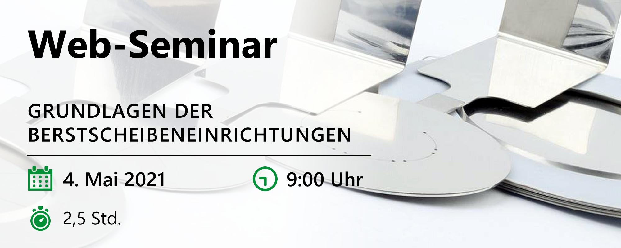 Web-Seminar am 04.05.2021