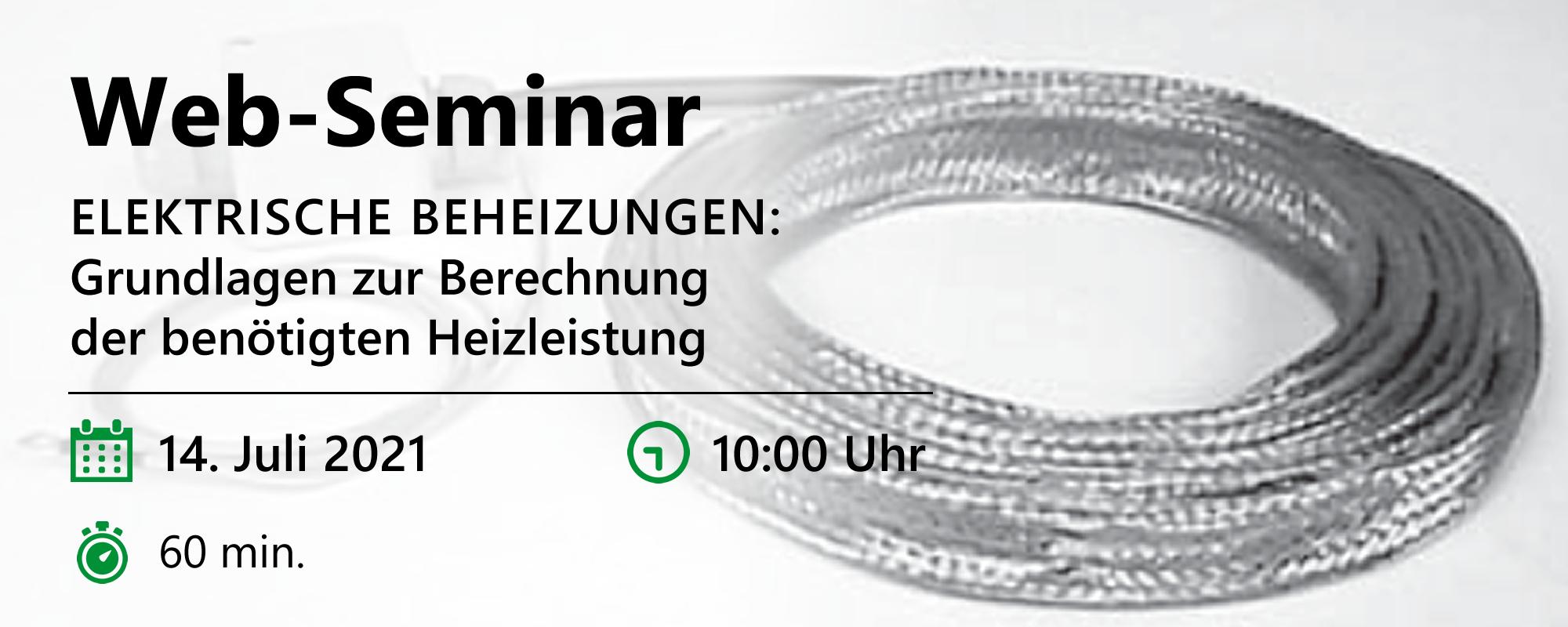 Web-Seminar am 14.07.2021