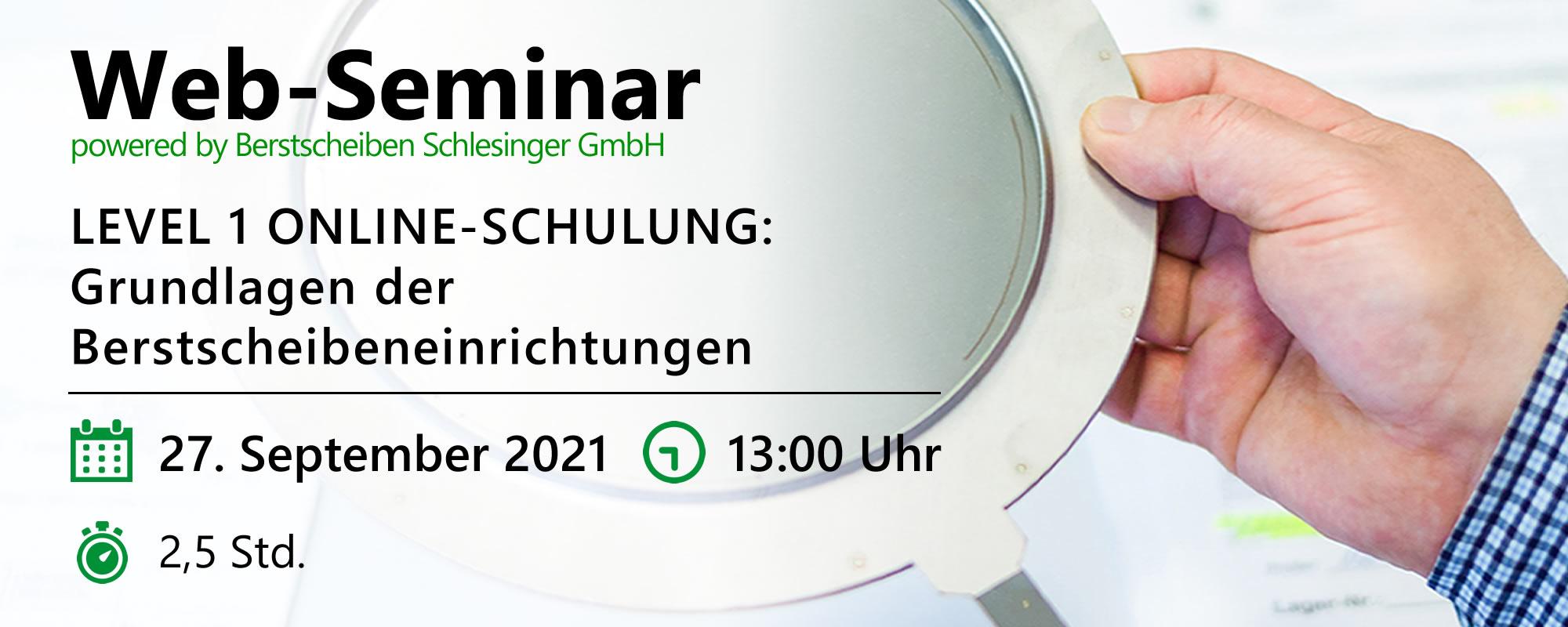 Web-Seminar am 27.09.2021