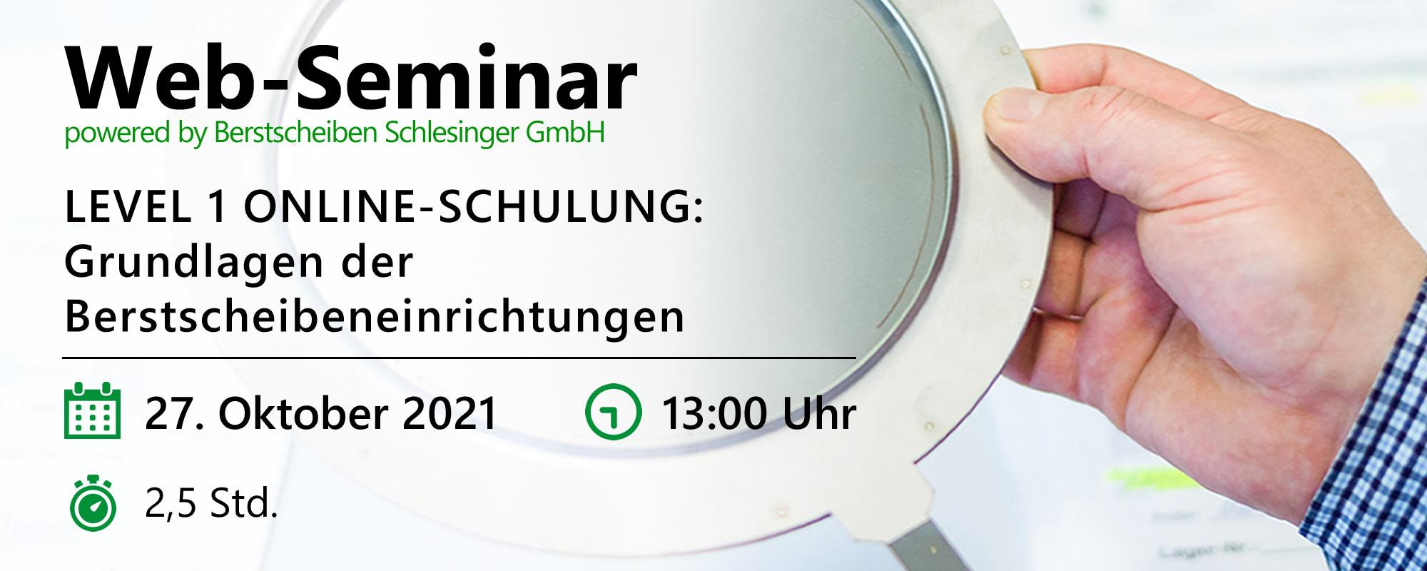Web-Seminar am 27.10.2021